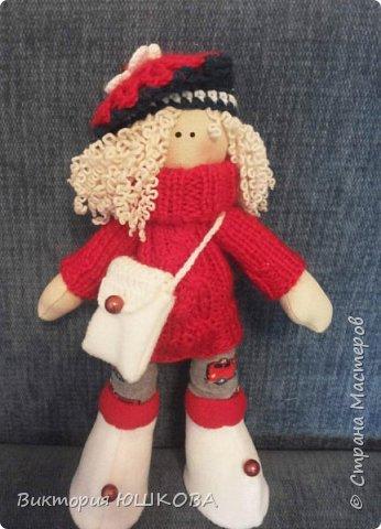 А это мое новое увлечение - текстильные куклы. Я их уже сделала много и в разных стилях и техниках.вот теперь отчет о проделанной работе выкладываю для вас, дорогие жители Страны) В этом блоге куколки большеголовки. фото 8