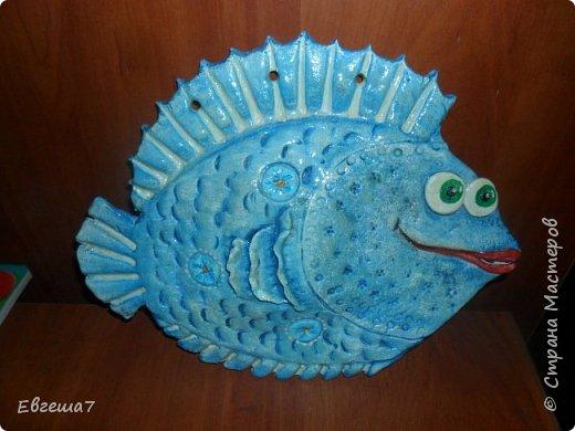 Рыбки (продолжаю знакомиться с  соленым тестом) фото 3