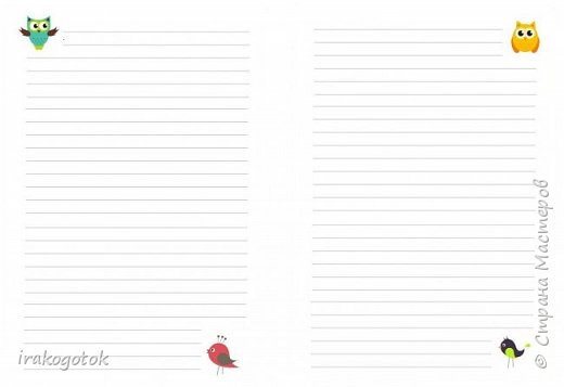 Дорогие мои девочки, сегодня я к вам со своими блокнотиками. Вот такой серенький блокнот у меня - записная книжка парикмахера( похож на мой первый блокнотик). Единственное отличие в разлинковке страничек, здесь на каждой страничке отдельный рисунок. фото 8