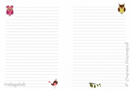 Дорогие мои девочки, сегодня я к вам со своими блокнотиками. Вот такой серенький блокнот у меня - записная книжка парикмахера( похож на мой первый блокнотик). Единственное отличие в разлинковке страничек, здесь на каждой страничке отдельный рисунок. фото 11