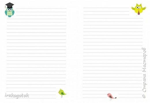Дорогие мои девочки, сегодня я к вам со своими блокнотиками. Вот такой серенький блокнот у меня - записная книжка парикмахера( похож на мой первый блокнотик). Единственное отличие в разлинковке страничек, здесь на каждой страничке отдельный рисунок. фото 9