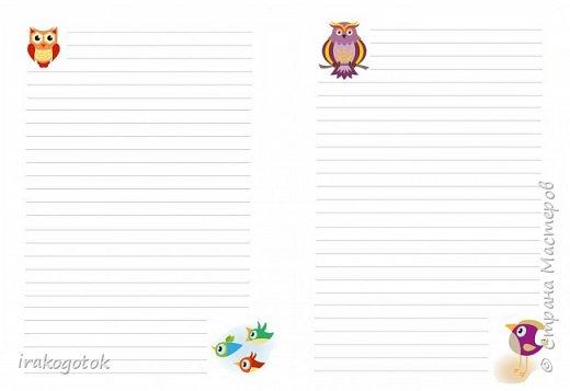 Дорогие мои девочки, сегодня я к вам со своими блокнотиками. Вот такой серенький блокнот у меня - записная книжка парикмахера( похож на мой первый блокнотик). Единственное отличие в разлинковке страничек, здесь на каждой страничке отдельный рисунок. фото 10