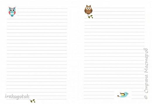 Дорогие мои девочки, сегодня я к вам со своими блокнотиками. Вот такой серенький блокнот у меня - записная книжка парикмахера( похож на мой первый блокнотик). Единственное отличие в разлинковке страничек, здесь на каждой страничке отдельный рисунок. фото 12