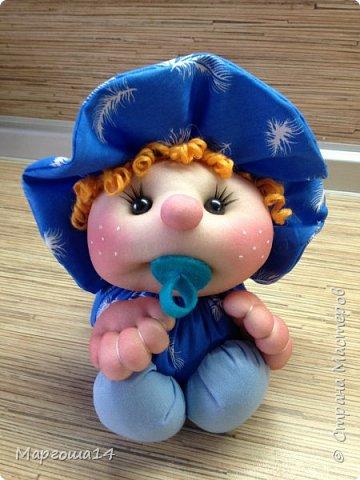 Малыши - отличный подарок на День рождения! Рост куколок 20 см вместе с шапочкой. фото 2