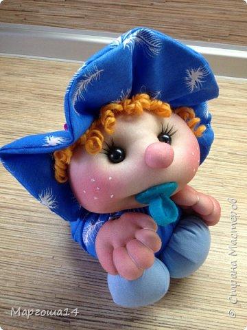 Малыши - отличный подарок на День рождения! Рост куколок 20 см вместе с шапочкой. фото 3
