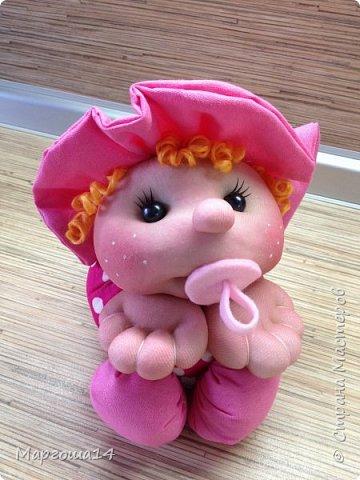 Малыши - отличный подарок на День рождения! Рост куколок 20 см вместе с шапочкой. фото 5