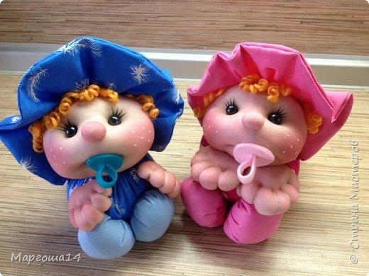 Малыши - отличный подарок на День рождения! Рост куколок 20 см вместе с шапочкой. фото 9