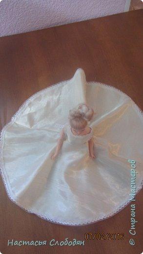 это моё самоё первое  платье для барби фото 3