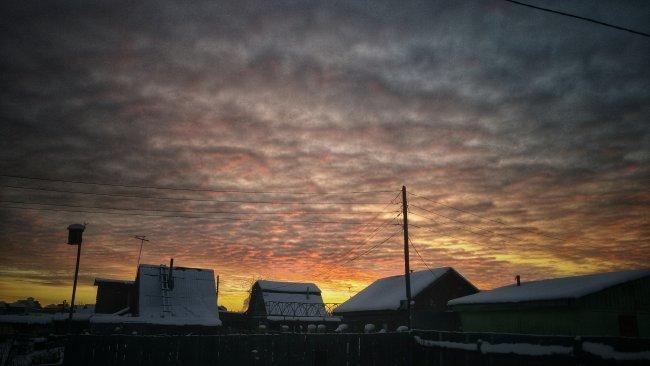 Любимой фотографией января у меня стала эта. Прекрасный закат который заставляет верить в то, что завтрашний день будет лучше. фото 1