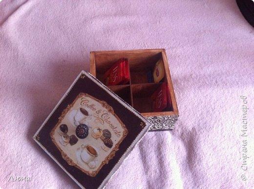 Чайная коробочка фото 3