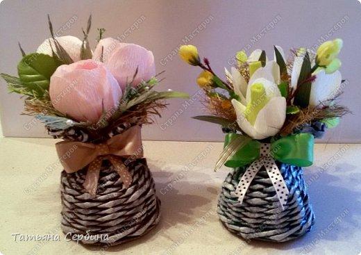 Сделала весенние ботиночки с розами и подснежниками фото 5