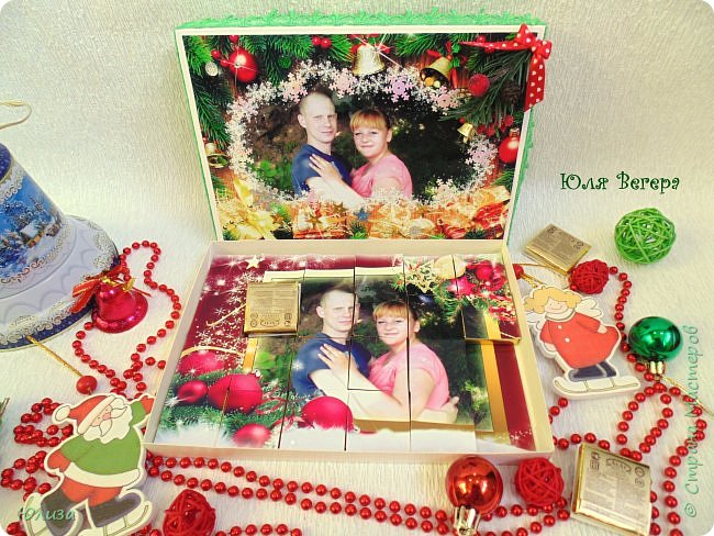 Конфетки -пазлы -отличный подарок на разные праздники)Спасибо всем кто заглянул в гости) фото 8