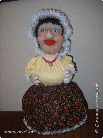 кукла-грелка Дусечка фото 1