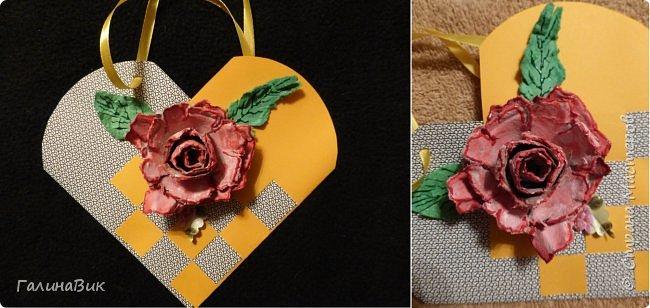 Эта валентинка-сердечко сделана из бумаги, сложенной в гармошку, приклеена к шпажке и вставлена в пробку.  фото 13