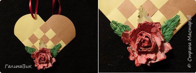 Эта валентинка-сердечко сделана из бумаги, сложенной в гармошку, приклеена к шпажке и вставлена в пробку.  фото 14