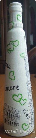 Трехгранная бутылка, на каждой грани своя картинка фото 17