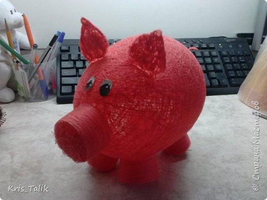 Свинка- копилка МК фото 1