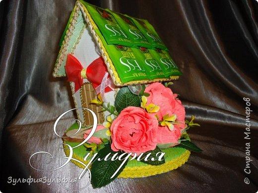 цветочный домик и шкатулочка фото 1