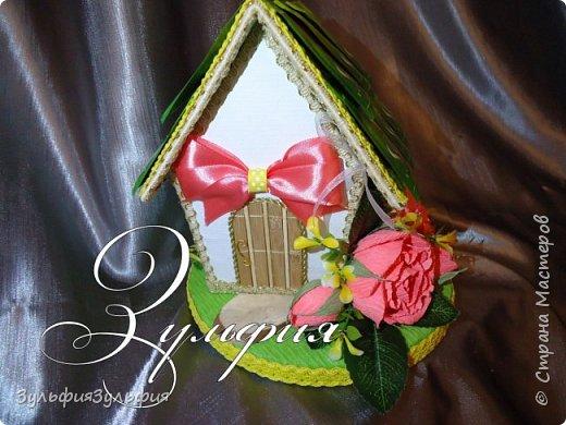цветочный домик и шкатулочка фото 2
