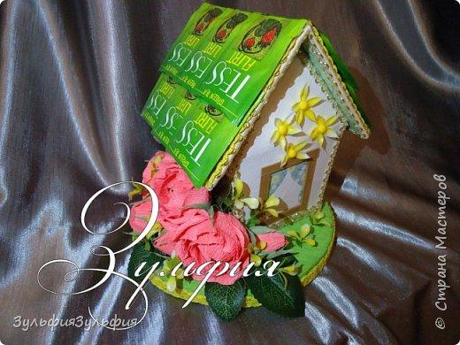 цветочный домик и шкатулочка фото 4