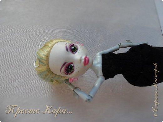 Всем привет!Ох,как давно меня не было в Стране Мастеров....Ладно,начнём!Я так решила,что заводские имена не подходят моим куклам и поэтому их поменяла.Встречайте-это Мелисса! фото 5