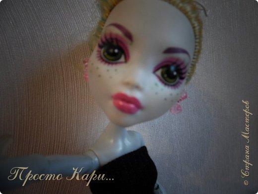 Всем привет!Ох,как давно меня не было в Стране Мастеров....Ладно,начнём!Я так решила,что заводские имена не подходят моим куклам и поэтому их поменяла.Встречайте-это Мелисса! фото 7