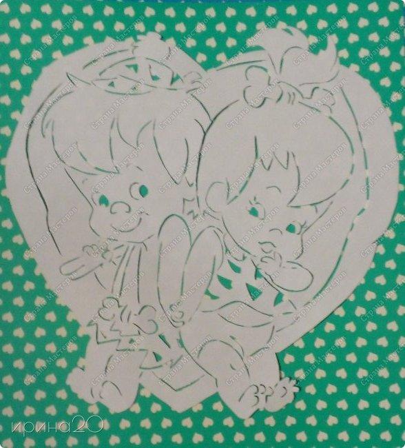 Вырезала из детской раскраски.  фото 2