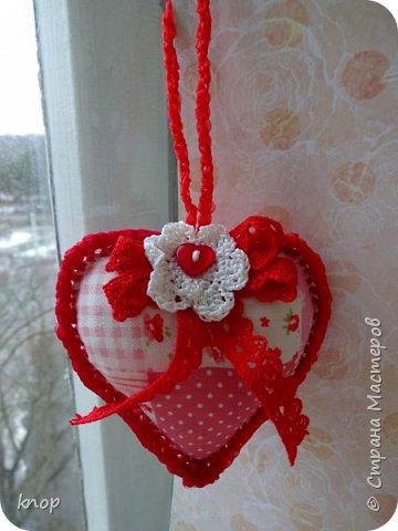 """Здравствуйте дорогие гости! предлагая вашему вниманию валентиночки из ткани!! если в прошлом году они были """"ленивые"""" и склеенные, то в этом году они уже настоящие) сшитые))))) фото 6"""