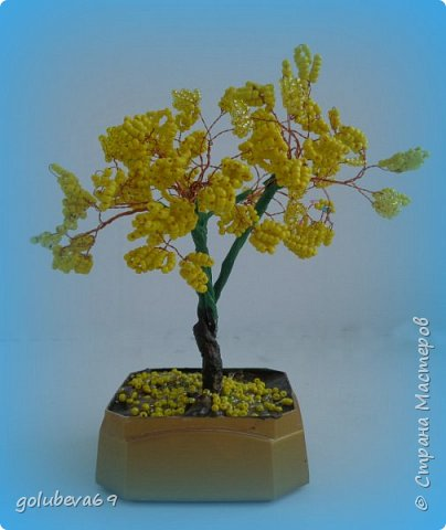 Очередное деревце их бисера. фото 2