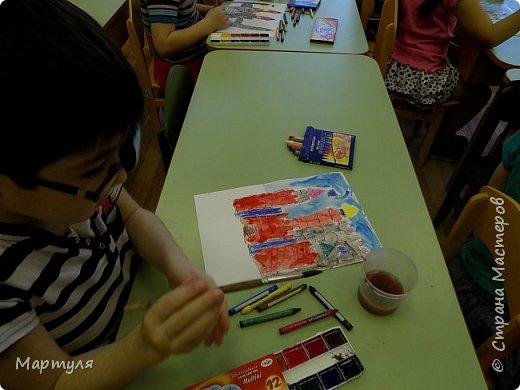 Рисовали замок с детьми. Это образец. фото 4