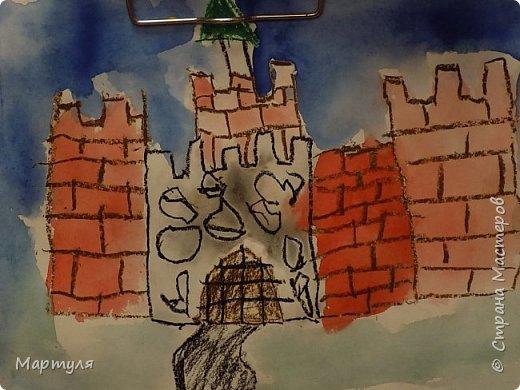 Рисовали замок с детьми. Это образец. фото 9