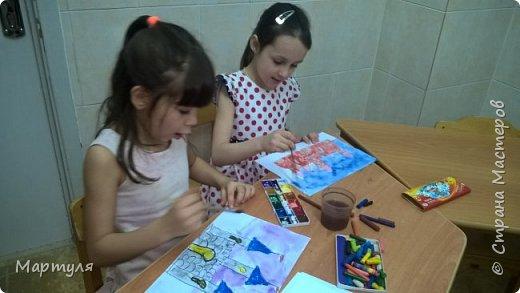 Рисовали замок с детьми. Это образец. фото 18