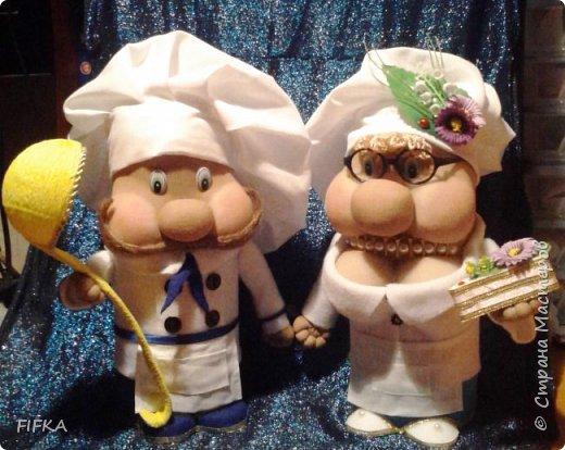 повар Сансаныч и кондитер Мариванна. фото 1