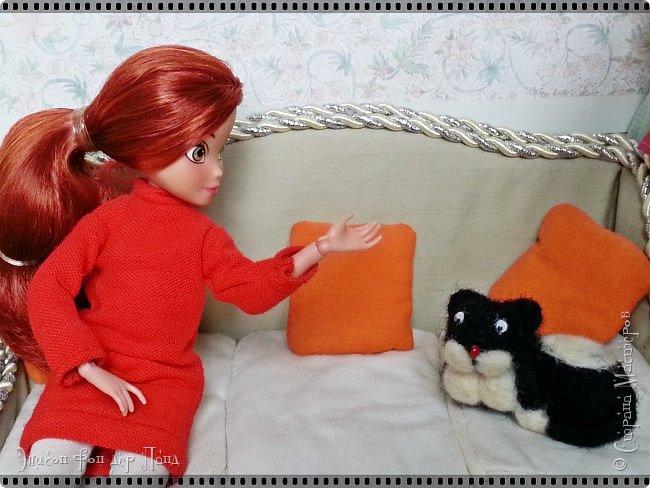 Смотрим продолжение истории о том, что случилось на нашей куклополке перед самым Днем Валентина... фото 3