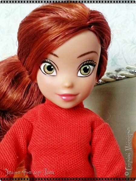 Смотрим продолжение истории о том, что случилось на нашей куклополке перед самым Днем Валентина... фото 8