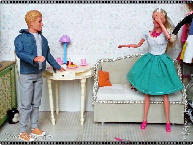 Смотрим продолжение истории о том, что случилось на нашей куклополке перед самым Днем Валентина... фото 24