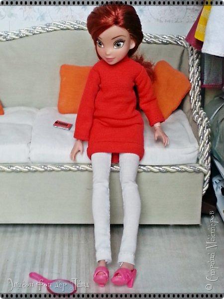 Смотрим продолжение истории о том, что случилось на нашей куклополке перед самым Днем Валентина... фото 29
