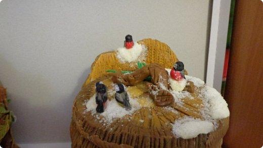 Еще одна шкатулка, зимний сюжет. фото 6