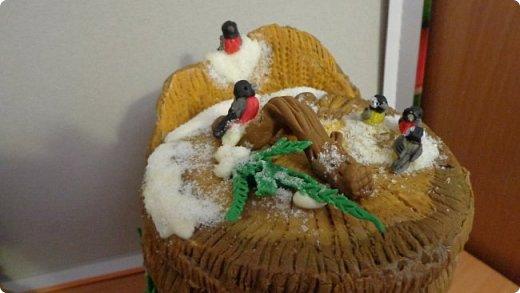 Снегири для шкатулки. фото 10