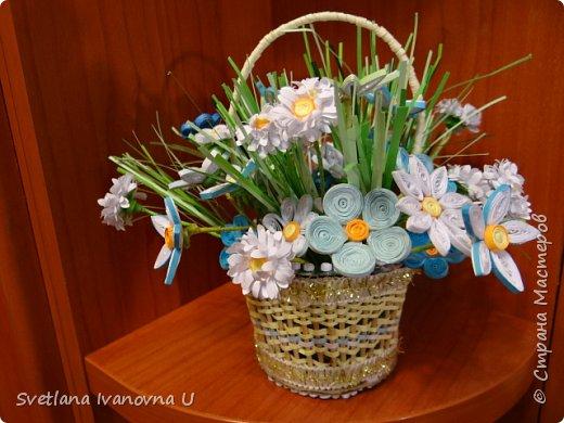букет из хризантем, сделан из бумажных  салфеток фото 8