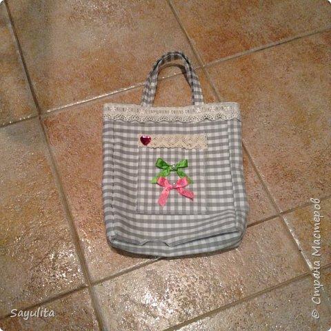 Первая сумочка для садика фото 2