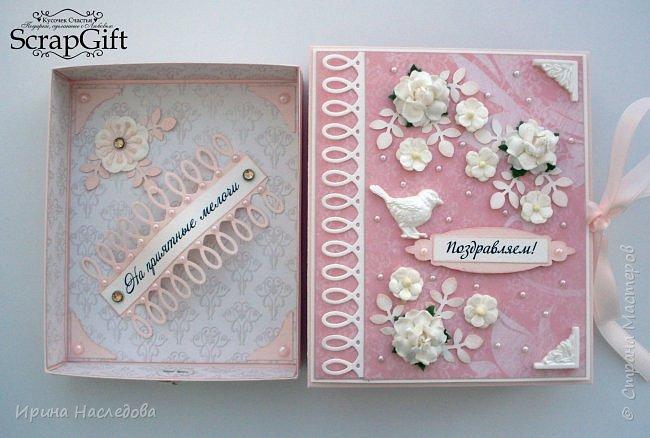 Как красиво подарить деньги. Коробочка для денежного подарка. фото 2