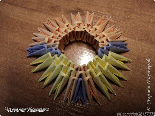 Расцветка необычная, потому что сделан из остатков модулей. Желтые модули 1/32 А 4 - 621 Фиолетовые 1/32 А 4 - 96 1/64 А 4 - 50 Бежевые 1/32 А 4 -145 1/64 А 4 - 41 Модули размером 1/64 А 4 идут на хвост, щечки, подбородок, ушки. фото 4