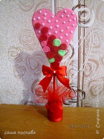 Деревца-валентинки фото 1