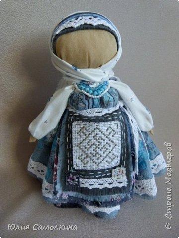 Кукла-оберег Цветок Папоротника фото 1