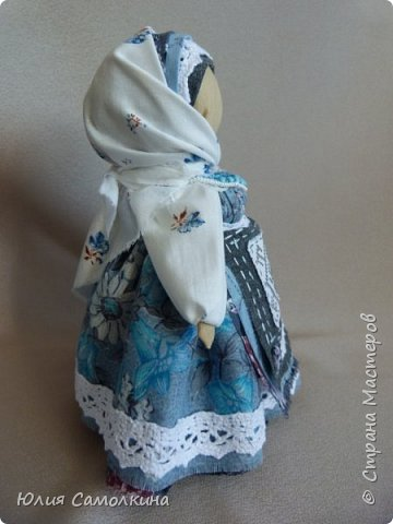 Кукла-оберег Цветок Папоротника фото 2