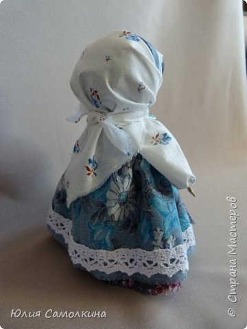 Кукла-оберег Цветок Папоротника фото 5