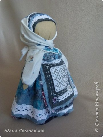 Кукла-оберег Цветок Папоротника фото 7