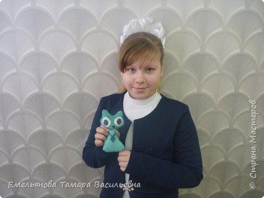 С 5 классами стали шить игрушки из фетра. фото 8