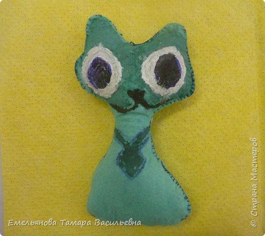 С 5 классами стали шить игрушки из фетра. фото 9
